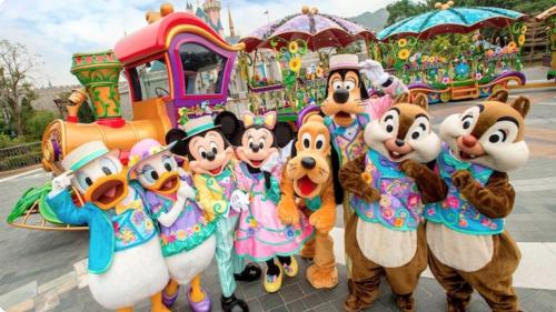 香港ディズニーフレンズスプリングタイムパレード