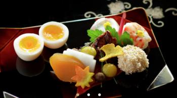 京都の老舗料亭南禅寺瓢亭の料理