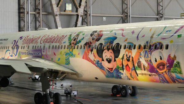 特別塗装機「JALセレブレーションエクスプレス」