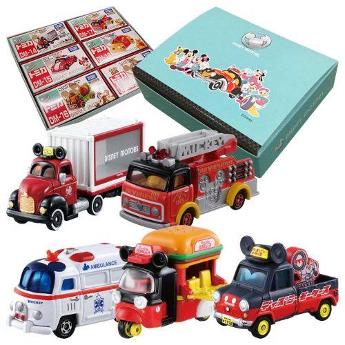【オリジナルボックスつき】ディズニーモータース ミッキーはたらく車セット
