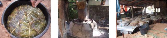 ミヤン発酵の様子