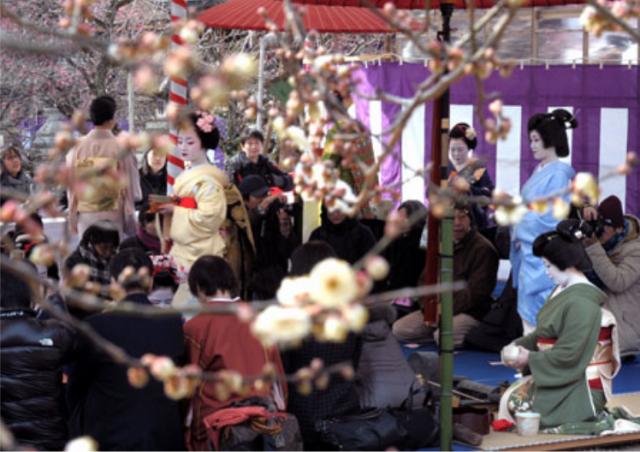 北野天満宮節分祭