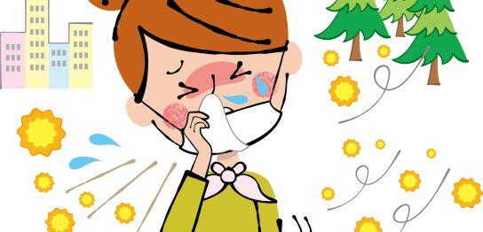 じゃばらで花粉症対策