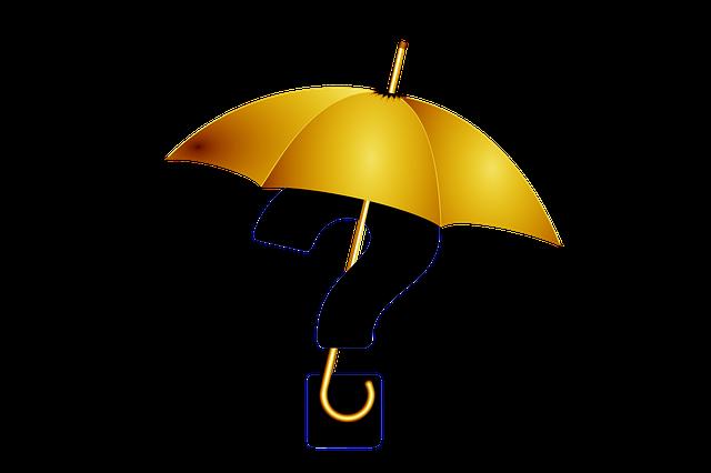 正しい傘のマナー