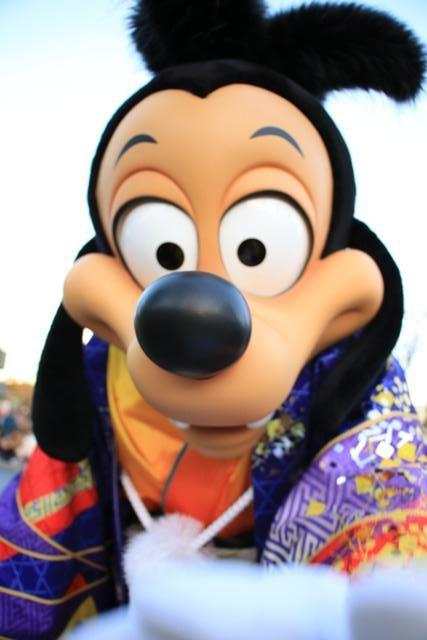 ディズニーの正月