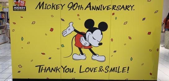ミッキー90周年アニバーサリーマジックオブカラー